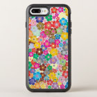 Sweet Colourful Flower Design Phone Case