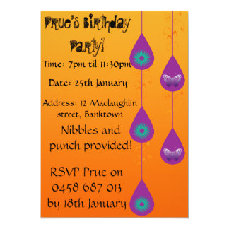 Sweet Colourful Invitations