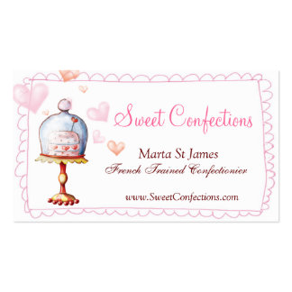 Sweet Confections Business Cards
