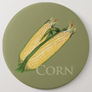 Sweet Corn 6 Cm Round Badge