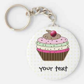 Sweet Cupcake Key Ring