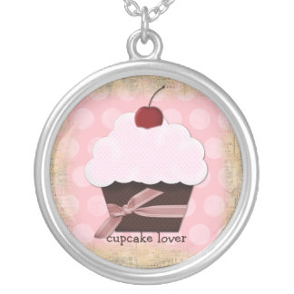 Sweet Cupcake Lover Necklace