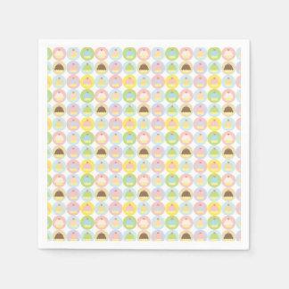 Sweet Cupcake Pattern Paper Napkins
