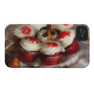 Sweet - Cupcake - Red velvet cupcakes iPhone 4 Cases