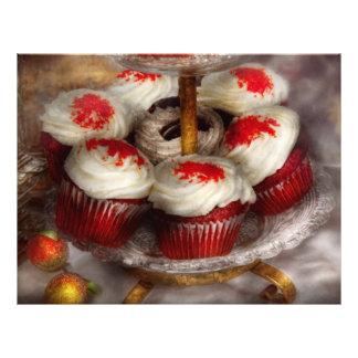 Sweet - Cupcake - Red velvet cupcakes Full Color Flyer