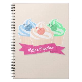 Sweet Cupcake Trio Notebook