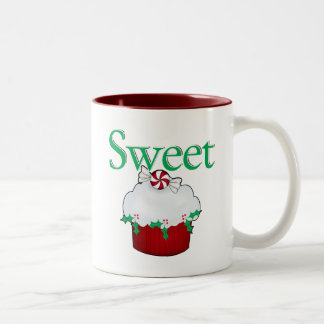 Sweet Cupcake Two-Tone Coffee Mug
