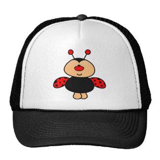 sweet cute ladybug cap