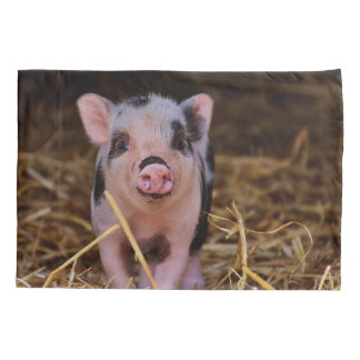 Sweet Cute Pig Pillowcase