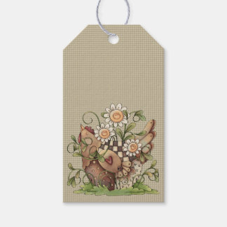 Sweet Daisy Hen Hang Tags