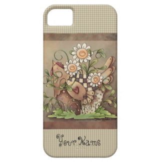 Sweet Daisy Hen iPhone 5/5S Barely There iPhone 5 Case