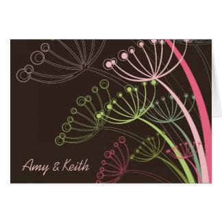 Sweet Dandelions Invitation / Announcement Card