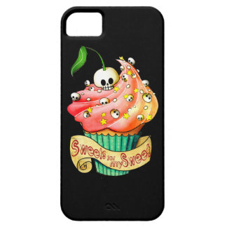 Sweet & Deadly  Skull Cupcake iPhone 5 Cases
