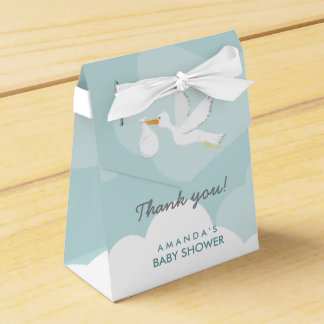 Sweet Delivery Stork Baby Shower Favor Box Wedding Favour Box