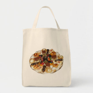 Sweet Desserts Grocery Tote Bag