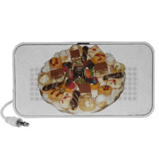 Sweet Desserts Laptop Speakers