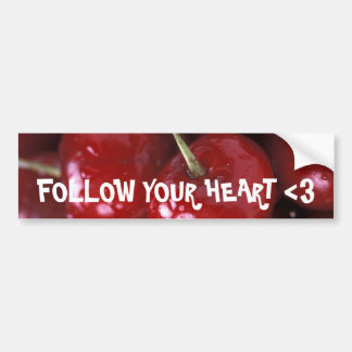 Sweet Destiny Fruit Salad Cherries Bumper Sticker