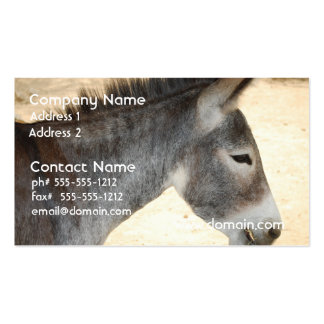 Sweet Donkey Pack Of Standard Business Cards