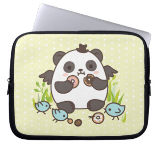 Sweet Doughnut Party! Laptop Sleeve