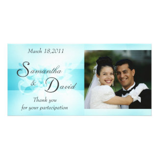 Sweet Dream Thank You Wedding Picture Card