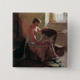 Sweet Dreams, 1892 15 Cm Square Badge
