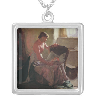 Sweet Dreams, 1892 Silver Plated Necklace