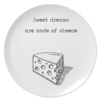 Sweet Dreams Are Made Of Cheese Cheese Lover Plate