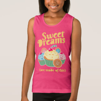 Sweet dreams are made of... cupcakes and cookies tank top
