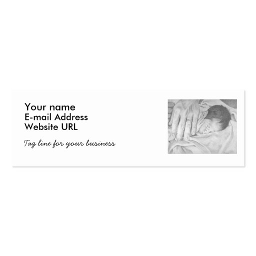 Sweet Dreams Baby Business Card