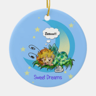 """Sweet Dreams,Baby""  Fairy Ornament"