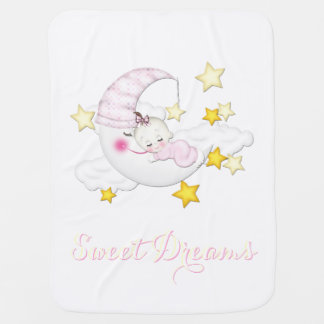 Sweet Dreams Baby Girl Blanket