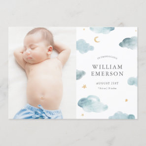 Sweet Dreams Birth Announcement