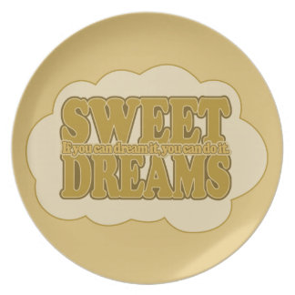 Sweet Dreams custom plate