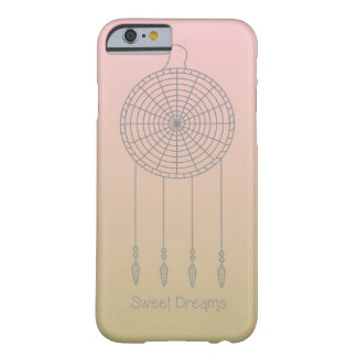 Sweet Dreams Dreamcatcher- Pink/Gold Barely There iPhone 6 Case