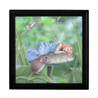 Sweet Dreams Fairy Keepsake Box