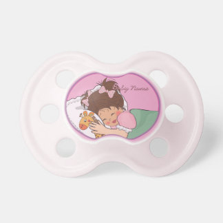 Sweet Dreams My Dear Princess Baby Girl Pacifier