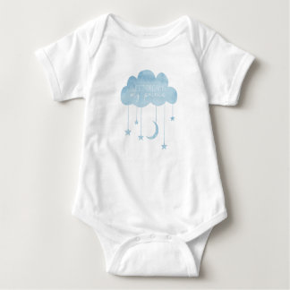 Sweet dreams, my prince, baby boy vest baby bodysuit