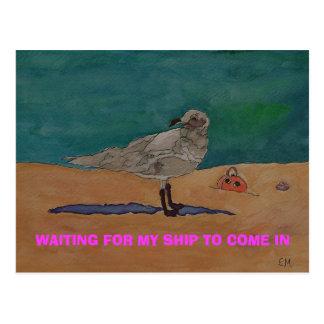 SWEET DREAMS- Postage Stamp Postcard