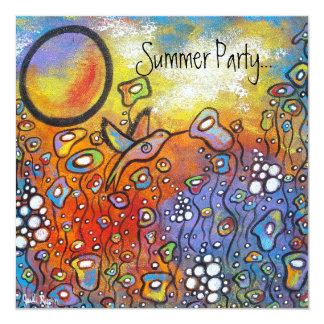 Sweet Dreams Summer Party Invitations