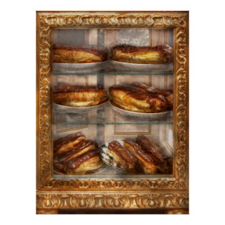 Sweet - Eclair - Chocolate Eclairs Posters