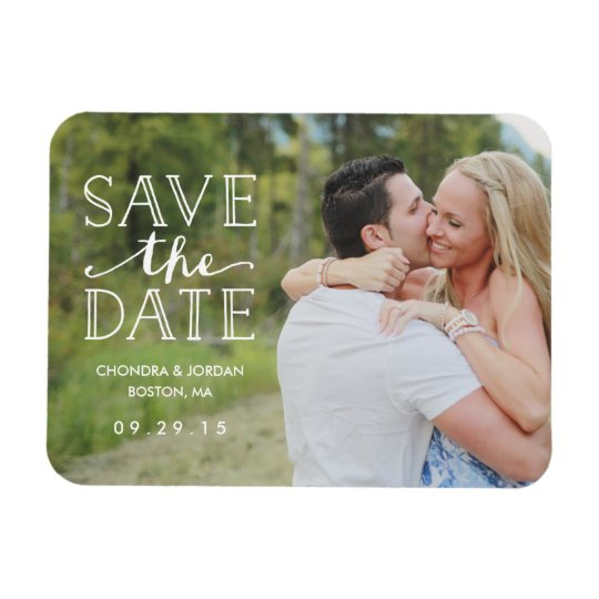 Sweet Engagement Overlay | Save the Date Magnet