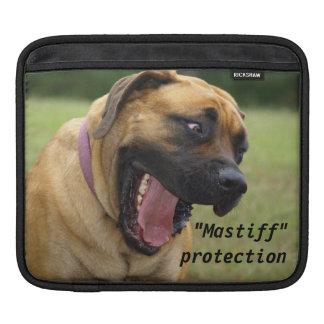 Sweet English Mastiff Happy Dog IPad Sleeve