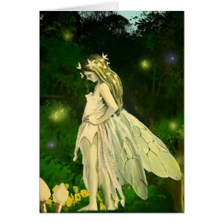 Sweet Faerie - Greetings Card by Neil