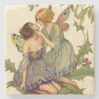Sweet Fairy Kiss Stone Coaster