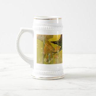 Sweet fairy with mystical background mug