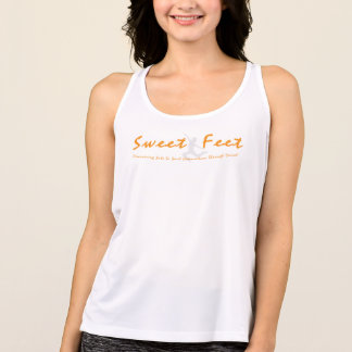 Sweet Feet Women's Workout Tank Top