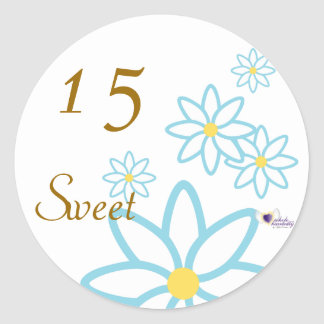 Sweet Fifteen April s Birth Flower-Cuctomize Stickers