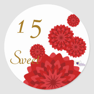 Sweet Fifteen January s Birth Flower-Cuctomize Stickers