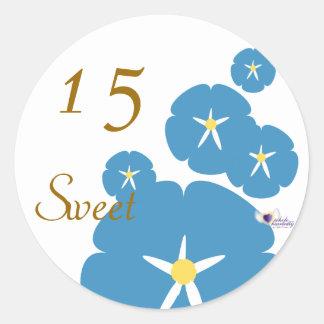 Sweet Fifteen September s Birth Flower-Cuctomize Sticker