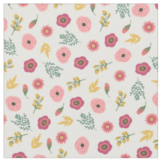 Sweet Floral Fabric